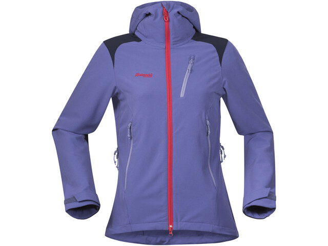 Bergans Cecilie Mountaineering Jacket Women Anemone/Navy/Strawberry/Light Anemone